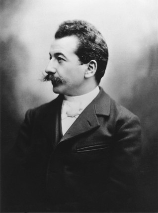 Auguste Lumiere, c 1895.