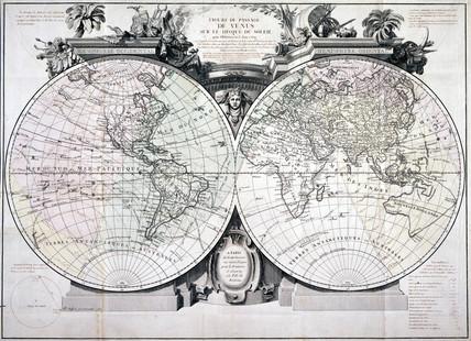 'Figure du Pasage de Venus sur le Disque du Soleil', June 1769.