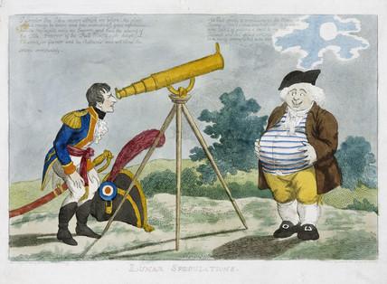 'Lunar Speculations', 1803.