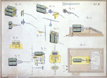 Cooke and Wheatstone English Patent, Table II, 6 May 1845.