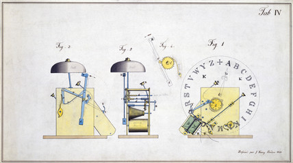 Cooke and Wheatstone English Patent, Table IV, 6 May 1845.