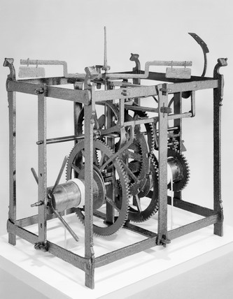 Clock mechanism from Dover Castle, c 1348.
