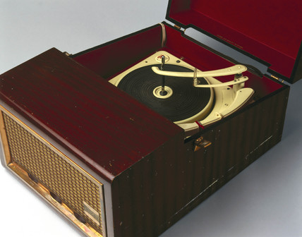 'Emisonic' stereo record player, late 1950s.