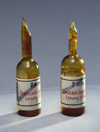 Ophthalmological drugs, c 1880-1930.