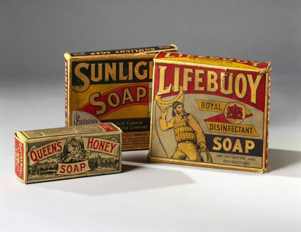 Selection of soaps, c 1890-1914.