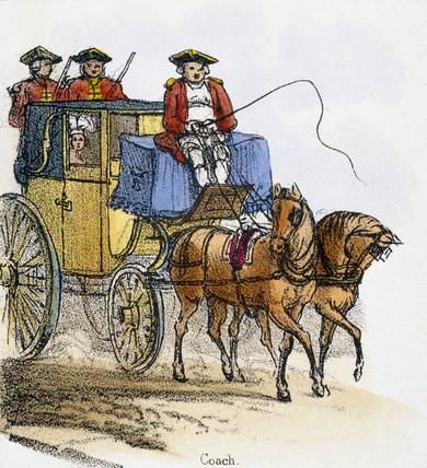 'Coach', c 1845.