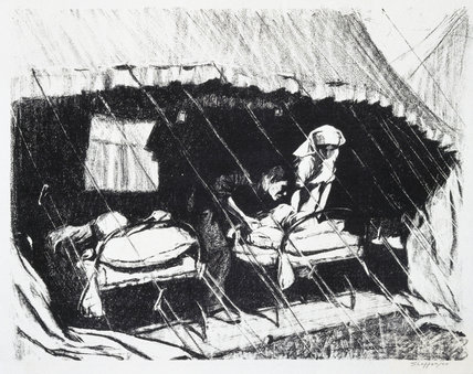 'Casualty Clearing Station in France', 1914-1918.