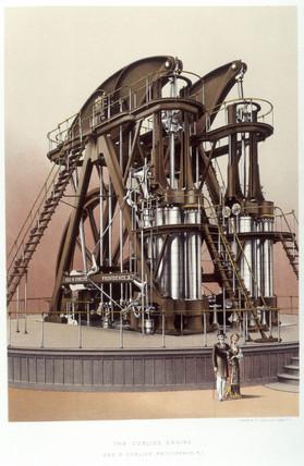 The Corlis Steam Engine, 1876.