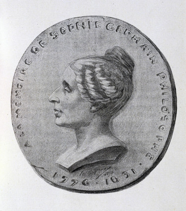 Sophie Germain, French mathematician, 19th century.