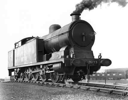 LNER steam locomotive No 6173, March railwa