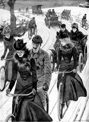 Cycling, 1899.