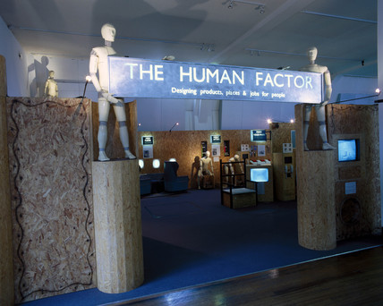 Display from 'The Human Factor', Science Museum, London, 1999.