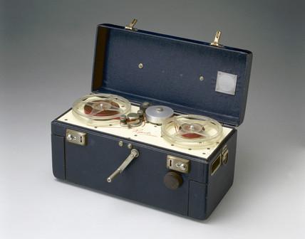 'Reporter' tape recorder, 1953.