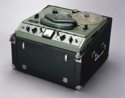 EMI tape recorder, 1960.