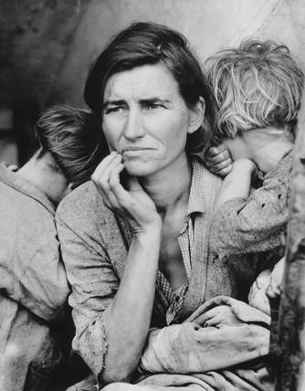 Migrant mother, California, February 1936.