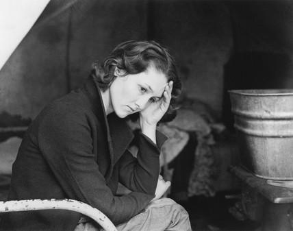Daughter of a migrant Tennese coal miner, California, November 1936.