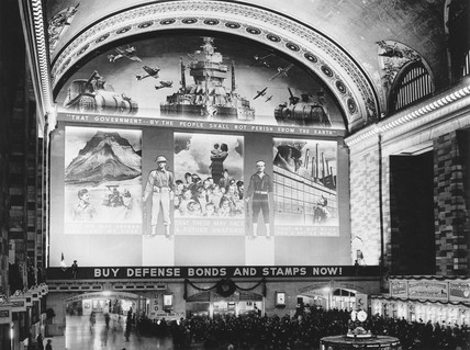 Grand Central Station, New York, showing a