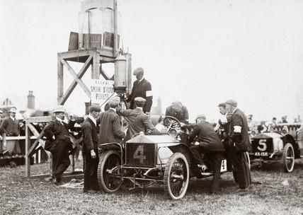 Automobile Club meet, c 1904.