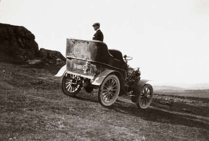 The first 10 hp Rolls-Royce motor car, 1904.