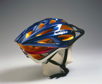 Cycle safety helmet, 1999.