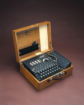 Four-rotor German Enigma cypher machine, 1939-1945.