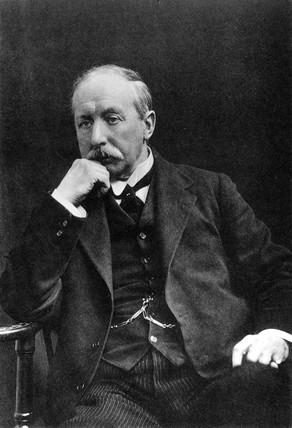 Charles Frederick Cros, English chemist, c 1920.