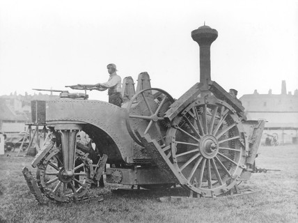 Boydell's traction engine, 1857.