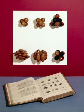 Wollaston's crystal models, 1790-1828.