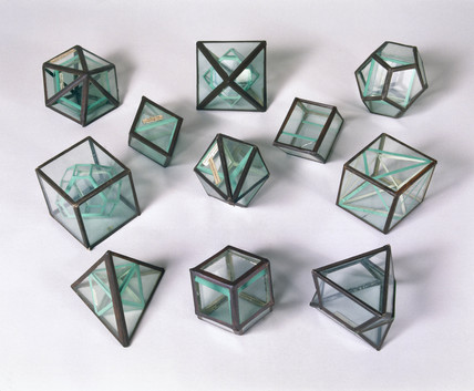 Wollaston's crystal models, 1790-1828.