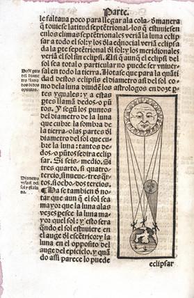 A solar eclipse, 1551.