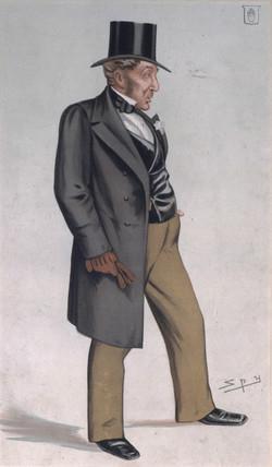 Daniel Gooch, British railway pioneer, 1882.