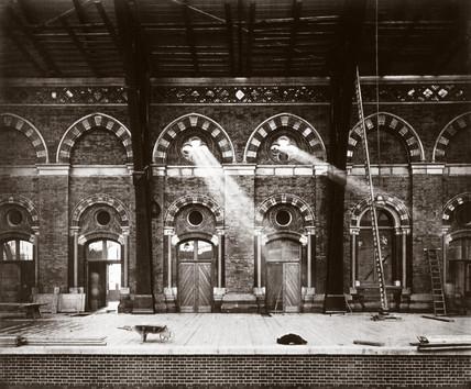 St Pancras Station, London, 1868.
