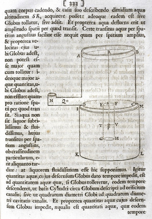 Proposition 38, Theory 29 from Newton's 'Principia Mathematica', 1687.