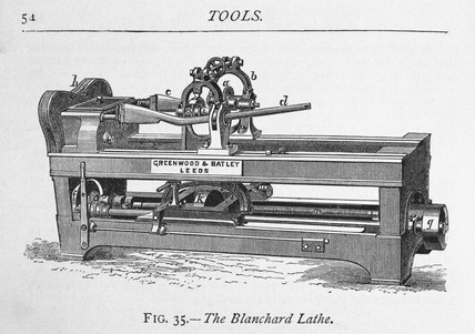 'The Blanchard Lathe', 1877.