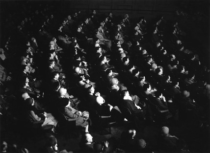 Audience watching 'The Sign of the Cros' at Carlton Theatre, 3 Feb 1933.