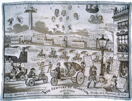 'The Century of Invention', c 1834.
