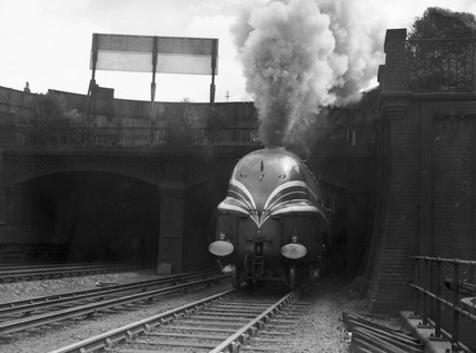 Steam locomotive 'Coronation', 29 June 1938