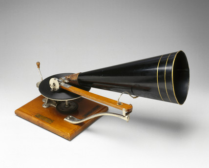 HMV gramophone, 1896.