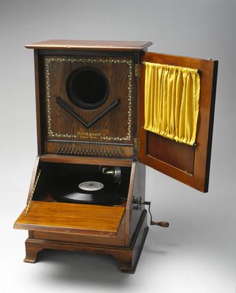 Klingsor gramophone, 1908.