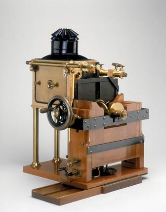 Muybridge's Zoopraxiscope, 1880.
