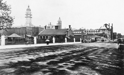 Exhibition Road, c 1905.