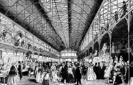 Opening of the South Kensington Museum, London, 1857.