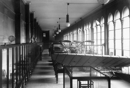 aeronautics Gallery in the Cole building, Science Museum, London, c 1910s.