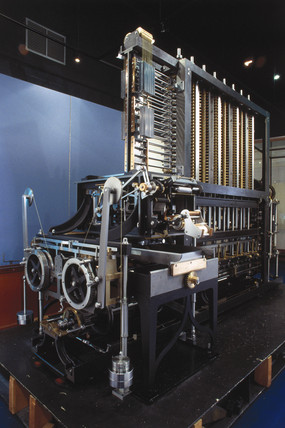 Babbage's Difference Engine No 2, 2000.