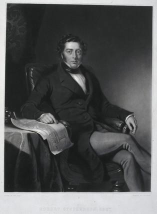 Robert Stephenson, English mechanical and civil engineer, 1846.