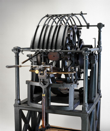 Portsmouth block-making machinery, 1803.