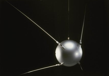 Sputnik 1 satellite, 1957.