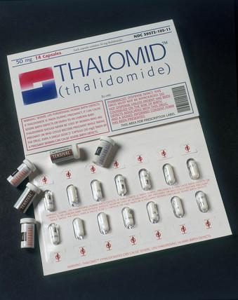 Thalidomide capsules, c 1958-1962.