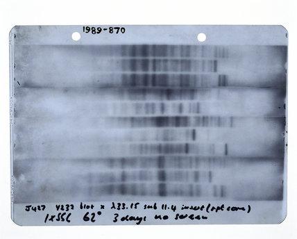 First genetic fingerprint, 1984.