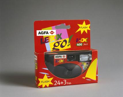 Agfa 'Le Box Go', disposable camera, 1999.